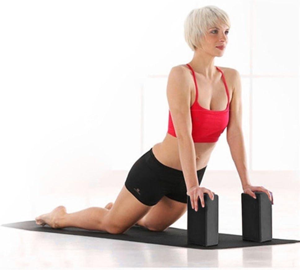 Rmoon Mattoncini Yoga Mattoni Bloccoyoga Yoga E Pilates Training Esercizi di Stretching per Principianti E Avanzati