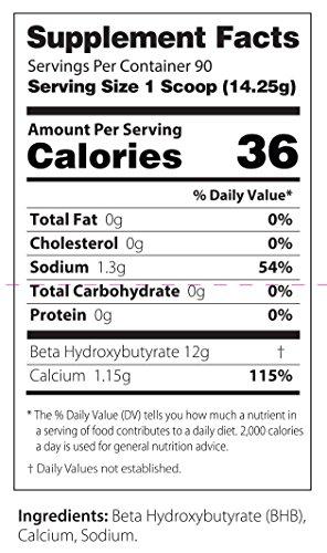 InstaKetones® 12g GoBHB® +Calcium Per Scoop (Unflavored) (90 Servings) Exogenous Ketones (2.83 lbs) by Julian Bakery (Image #3)