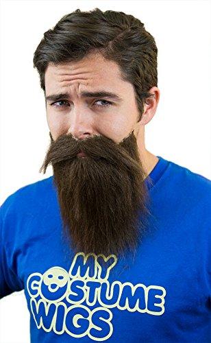 Fake Wigs (Beard & Mustache Set)