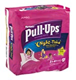 Huggies Pull-Ups Night Time Training Pants Disney Glow In The Dark 3T-4T 20 CT (Pack of 12)