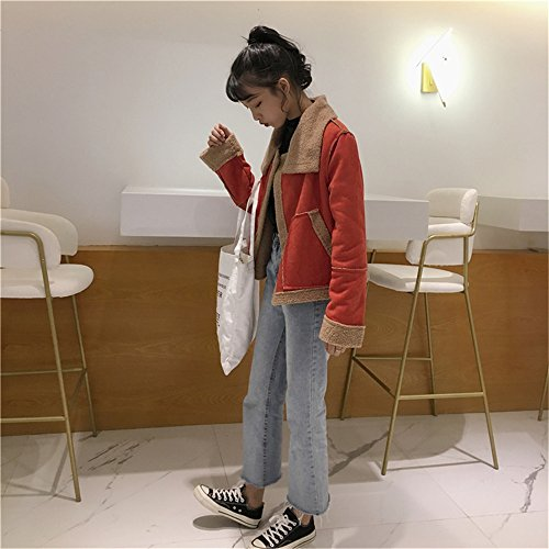 Manga clothing naranja para mujer Abrigo COCO Blusa Larga ztgxP