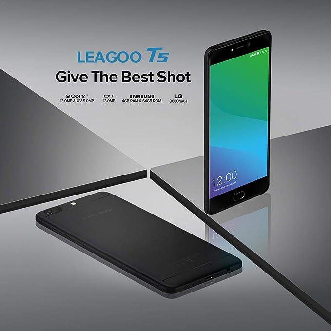 LEAGOO T5 Smartphone Cámara Dual Trasera de 5.5 Pulgadas Teléfono ...