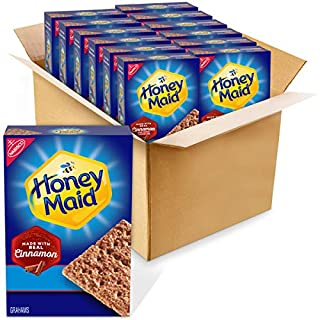 Honey Maid Cinnamon Graham Crackers, 12 - 14.4 oz boxes