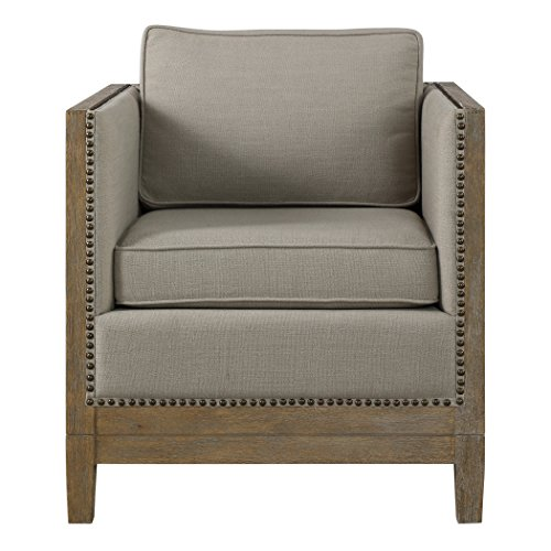 AR Lighting Kyle Weathered Oak Accent Chair (Kyle Wall Fixture)