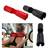 Cheng Yi Gym Barbell Pad Squat Bar Thick Foam Cushion Protector For Neck & Shoulders Fits Olympic...