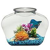 Koller Products BL20LPET 2-Gallon Fish Bowl, 12'' x 6'' x 9''