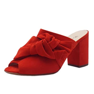 b75f7403c344 Peter Kaiser Anilia Stylish Chic Sandals in Coral Red  Amazon.co.uk ...