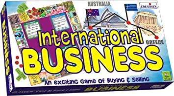 Creatives International Business Board Game (Multi-Color)