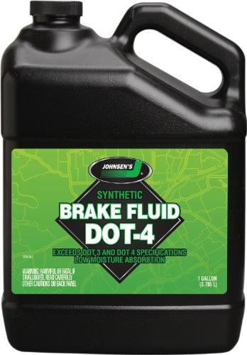 Johnsen's 5034 Premium Synthetic DOT-4 Brake Fluid - 1 (1 Gallon Fluid)