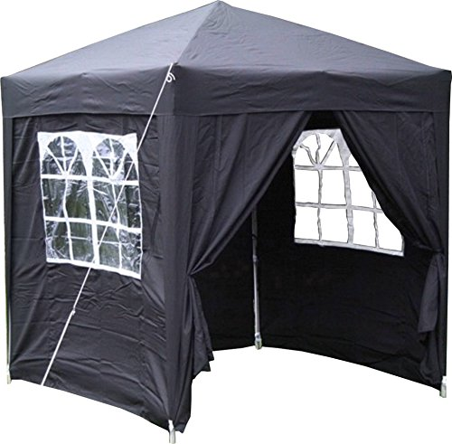 Airwave 2.0x2.0mtr Pop Up Gazebo, Fully Waterproof with Four Side Panels...