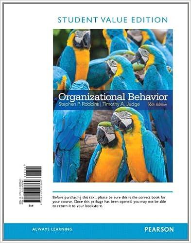 Amazon organizational behavior student value edition 16th organizational behavior student value edition 16th edition 16th edition by stephen robbins fandeluxe Choice Image