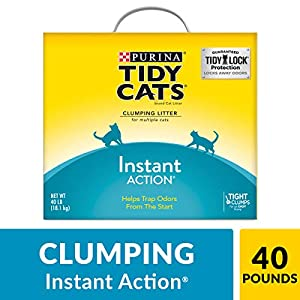 Purina Tidy Cats Instant Action Clumping Cat Litter - 40 lb. Box (00070230107121) 5
