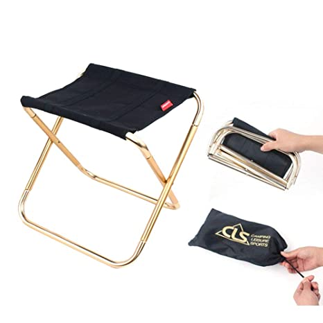 ANSUG Mini Chaise Pliante Camping Portable Chaise d