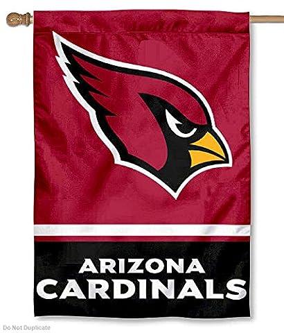 Arizona Cardinals Two Sided House Flag - Double Sided Pole