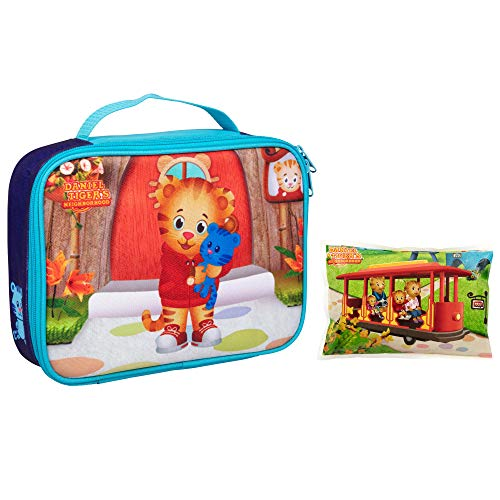 (Daniel Tiger's Neighborhood - Insulated Durable Lunch Bag Sleeve Kit with Ice Pack (Daniel Tiger:)