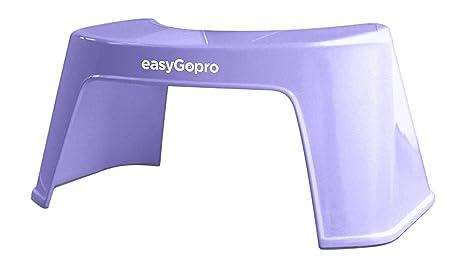 Easygopro m egp l sgabello ergonomico per wc plastica