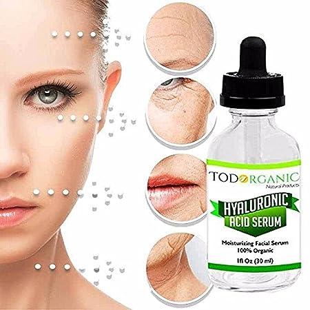 Amazon.com : Ácido Hialurónico El Mejor Suero Anti-Envejecimiento Para La Piel Clínicamente Comprobado- Suero Anti-Arrugas Con Vitamina C + Vitamina E + Te ...