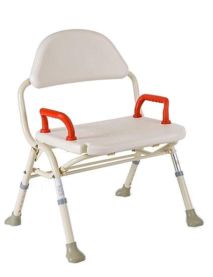 Marvelous Amazon Com Lqqff Aluminum Bath Chair Old Man Bath Machost Co Dining Chair Design Ideas Machostcouk