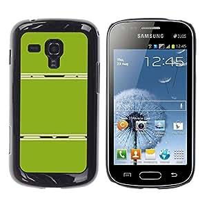 iBinBang / Funda Carcasa Cover Skin Case - Abstract Plastic Minimalist Lines - Samsung Galaxy S Duos S7562