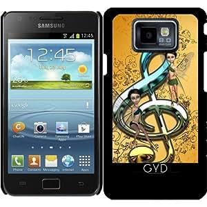 Funda para Samsung Galaxy S2 (GT-I9100) - Hermosa, Clave Decorativa by nicky2342