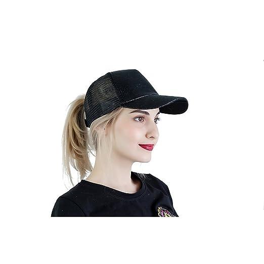 Amazon.com  Smilelane Ponytail Baseball Cap c6c374513ea1
