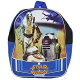 New Star Wars Episode 7 The Force Awakens Backpack - Features C3PO and R2D2
