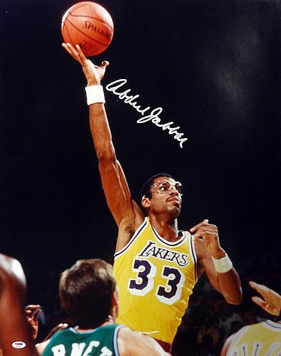 Image Unavailable. Image not available for. Color  Kareem Abdul Jabbar  Signed ... df56fef87