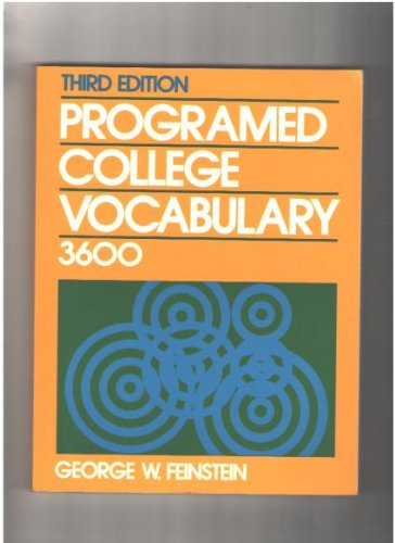 Programmed College Vocabulary 3600