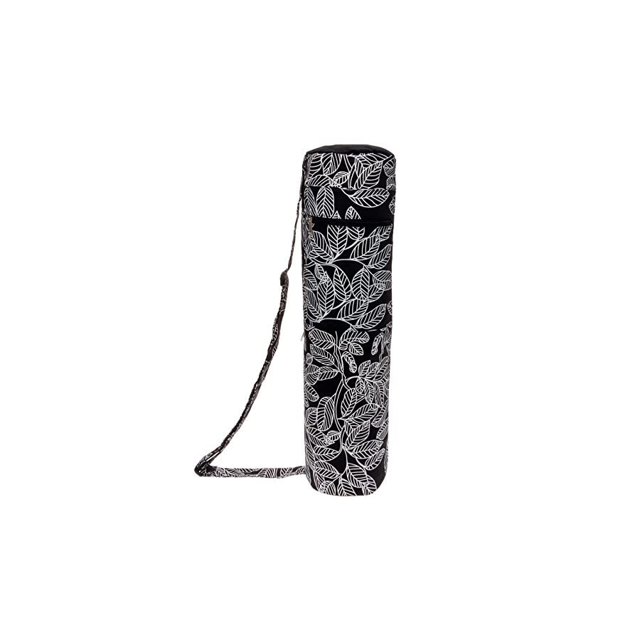 LISH Lightweight Eco Friendly Yoga Mat Bag Full Zip Yoga Tote w/Storage Pocket