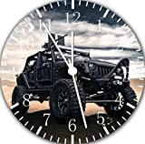 Jeep Wrangler Off Road Frameless Borderless Wall Clock F102 Nice For Gift or Room Wall Decor