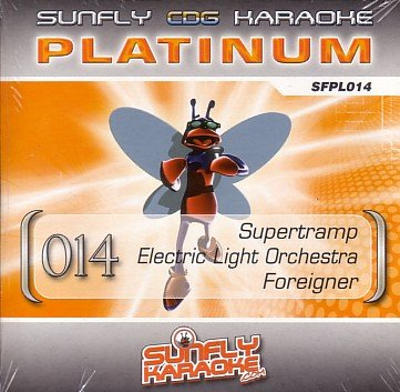 Sunfly Karaoke Platinum Series Volume 14 (CD+G)