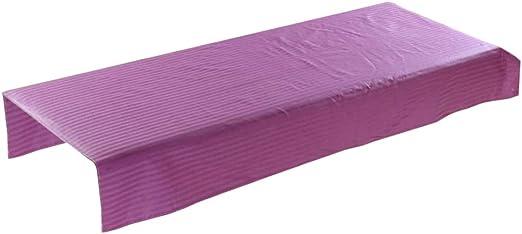 Sabana para Camilla de Masaje para Tratamientos de Belleza con Orificio de Respiración - Púrpura: Amazon.es: Hogar