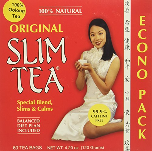 Hobe Laboratories Slim Tea - Original, 60-Count Tea Bags