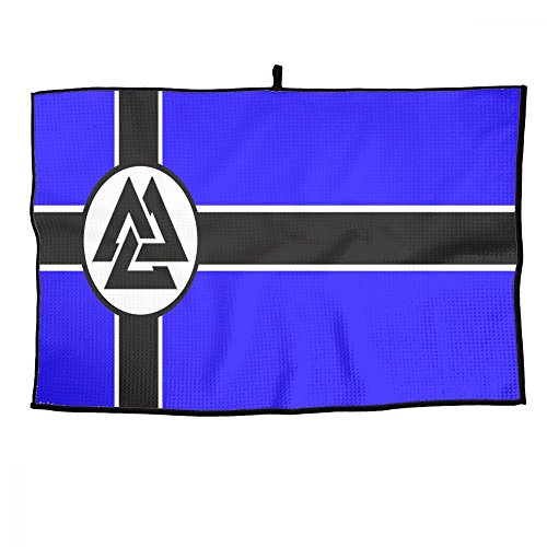 UAJAR Golf Towel New Valhalla Flag 23.6x15 Inches Player Towel -