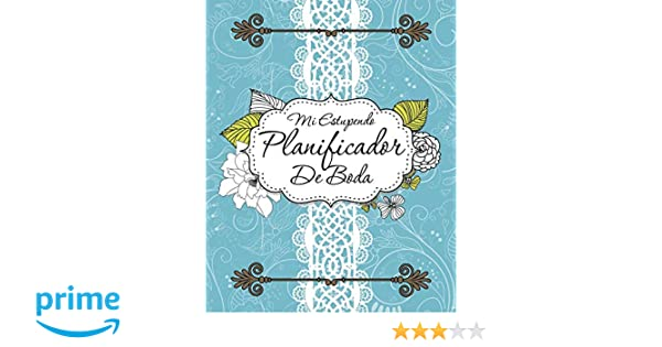 Amazon.com: Mi Estupendo Planificador De Boda (Spanish ...