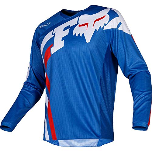 Fox Racing 2019 Youth 180 Jersey - COTA (Small) (Black) (Small, Blue)