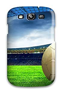 Awesome TzAUtsV8212EHTWk CaseyKBrown Defender Tpu Hard Case Cover For Galaxy S3- Football & Stadium