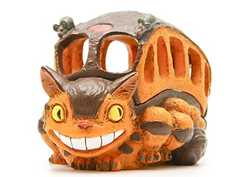 [Studio Ghibli My Neighbor Totoro Cat Bus Figure Toys DIY Multifunctional Totoro Bus Resin Action Figure Model Toy Storage] (Diy Star Wars Dog Costumes)