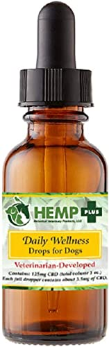 Hemp Plus Tincture Oil for Dogs Veterinarian Developed Formulas Powerful Relief Inside and Out Arthritis, Seizures, Chronic Pain, Calming 1oz
