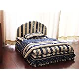 3 pieces big lage dog bed house set pet cat sofa Bed kennel for small dog (Pet bed + pillow + blanket)