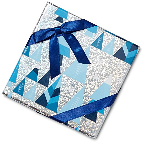 Large Product Image of Amazon.com $50 Gift Card in a Blue and Silver Gift Box