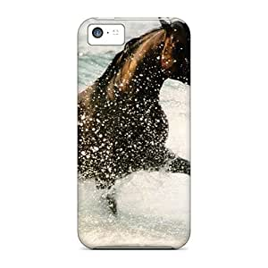 Hot Style RFLRy2935SKWEu Protective Case Cover For Iphone5c(water Horse)