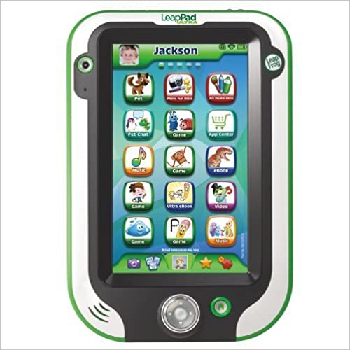 Best tablet kids. The picture of the leapPad Ultra Fun Learning tablet.