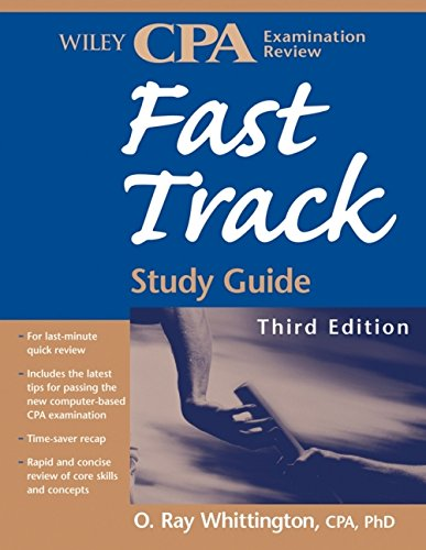 - Wiley CPA Examination Review Fast Track Study Guide
