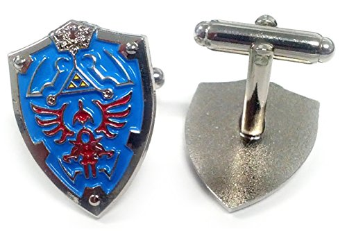 Used, Legend of Zelda Hylian Triforce Mini Shield Cufflinks for sale  Delivered anywhere in Canada