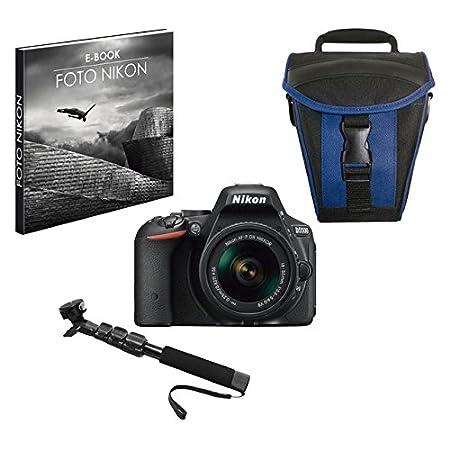 Nikon 999D5500PR1 - Cámara Digital Reflex de 24.2 MP con Estuche y ...