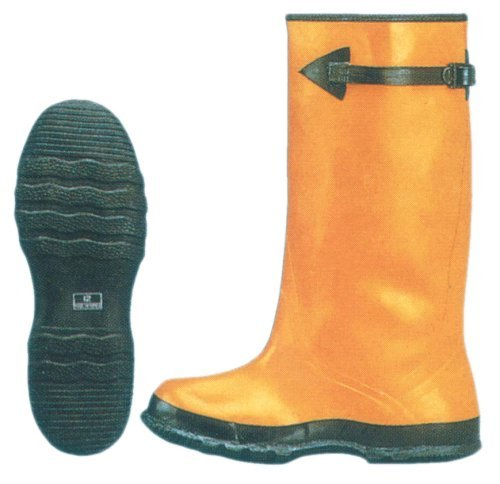 Hawk Footwear (17'' Yellow Rubber Slush Boots - Lined Over Shoe - Sizes: 8-16 16'')