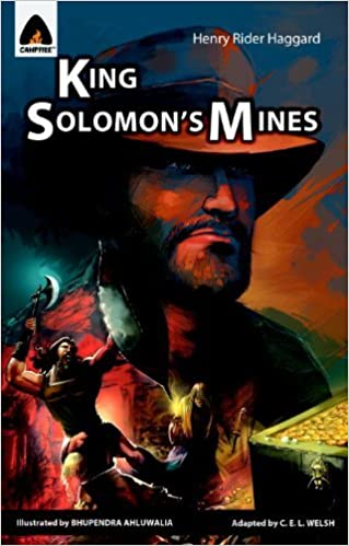 King Solomon's Mines: The Graphic Novel (Campfire Graphic Novels) by Henry Haggard (2011-03-22)