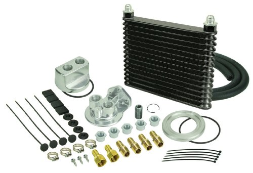- Derale 15451 Engine Oil Cooler Kit