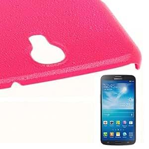 Plastic Raindrop Effect Case Cover Carcasa para Samsung Galaxy Mega 6,3 i9200/() Magenta